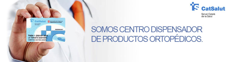 Centro dispensador de productos ortopédicos para Cat Salut